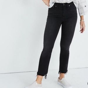 Madewell Cali Demi Boot Jeans size 37T